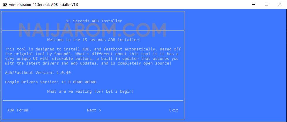 15 Seconds ADB Installer Reborn V1.0