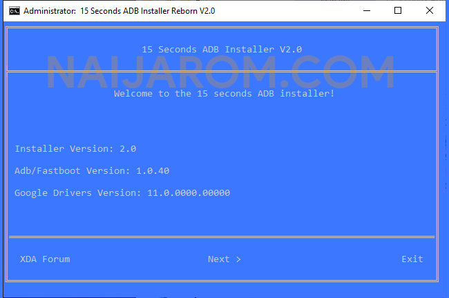 15 Seconds ADB Installer Reborn V2.0