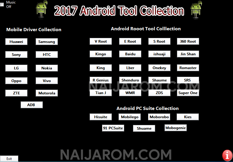 2017 android tool collection