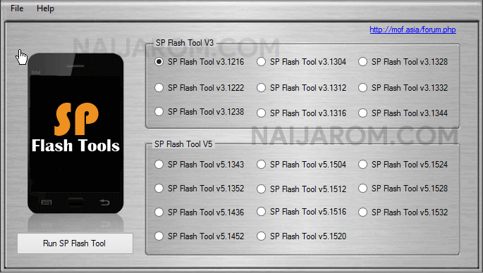 AIO SP Flash Tool