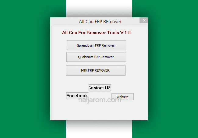 All CPU FRP Remover Tools v1.0