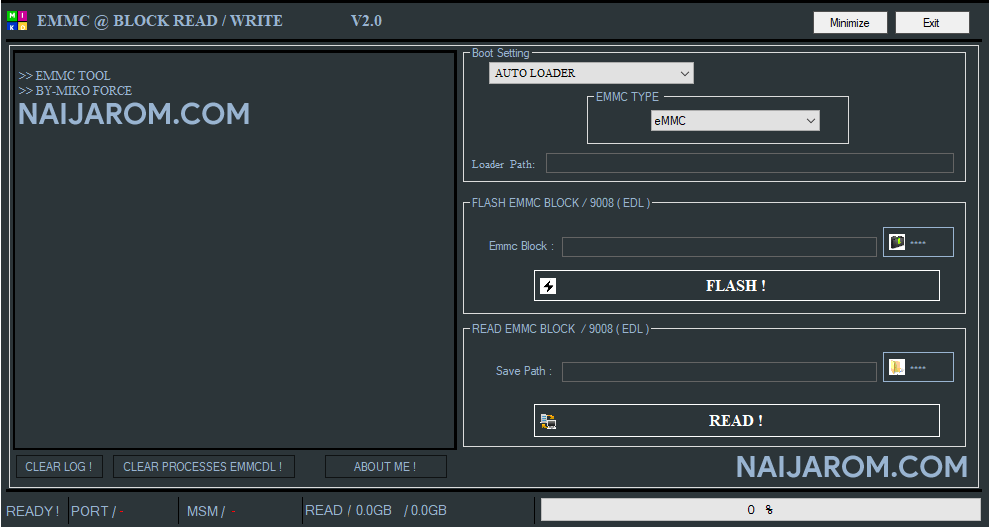 EMMC Block Read Write V2.0
