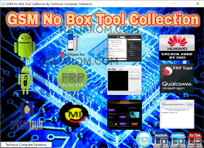 GSM No Box Tool Collection