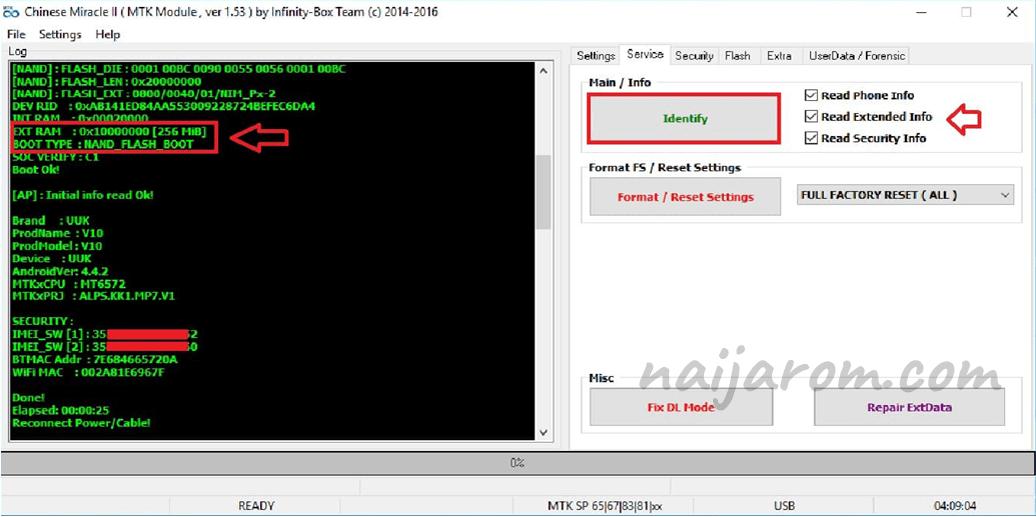 Infinitybox Chinese Miracle 2 MTK v1.53