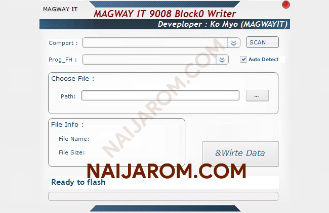 Magway IT 9008 Block0 Writer