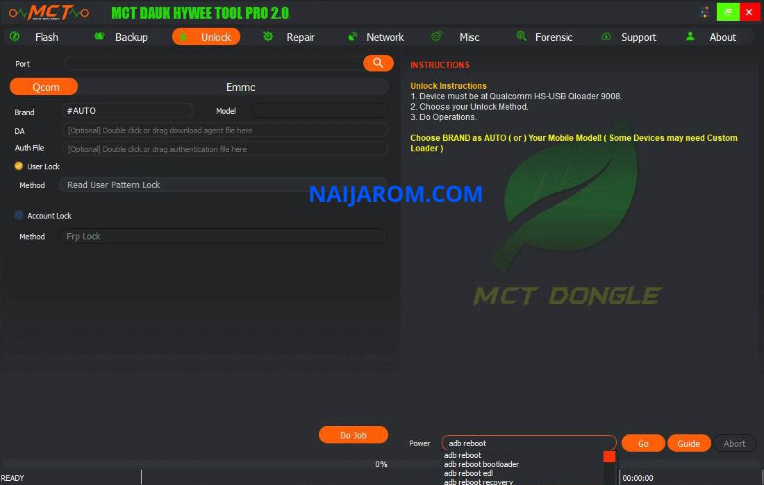MCT Dauk Hywee Tool Pro v2.0.0