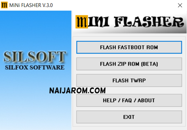 Mini Flasher Tools v3.0