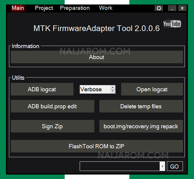MTK Firmware Adapter Tool