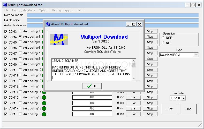 Multiport Download Tool v3.0812
