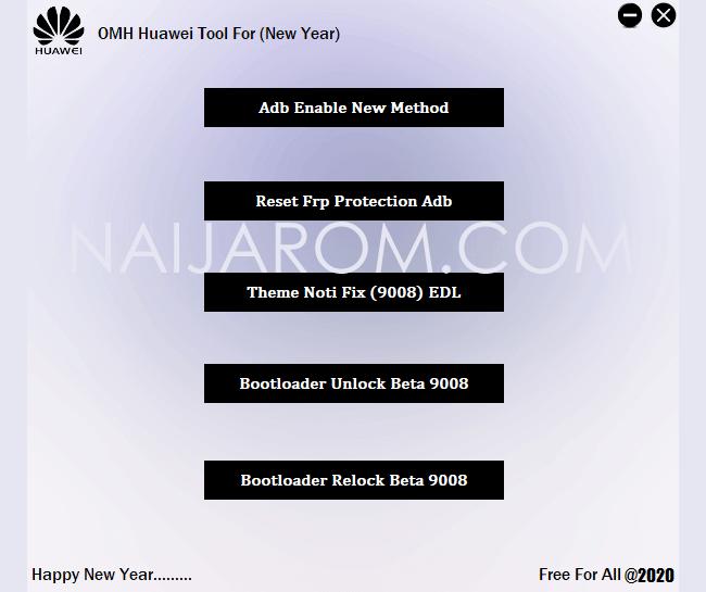 OMH Huawei Tool 2020