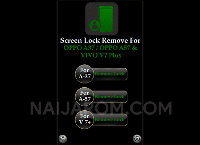 Screen Lock Remove Tool