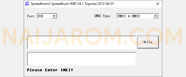 Spreadtrum IMEI Tool v4.1