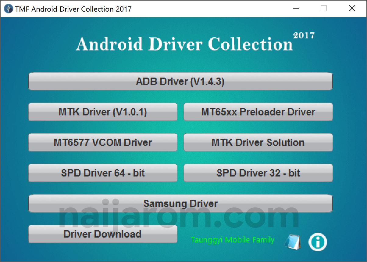 TMF Android Driver Collection 2017