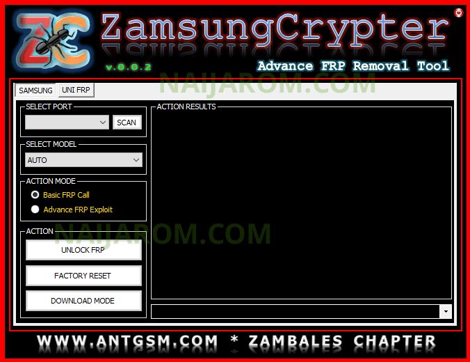 Zamsung Crypter v0.0.2